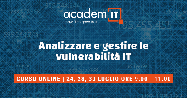 Corso online cyber security